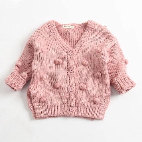 La petite surprise Baby Couture Strickjacke Rose