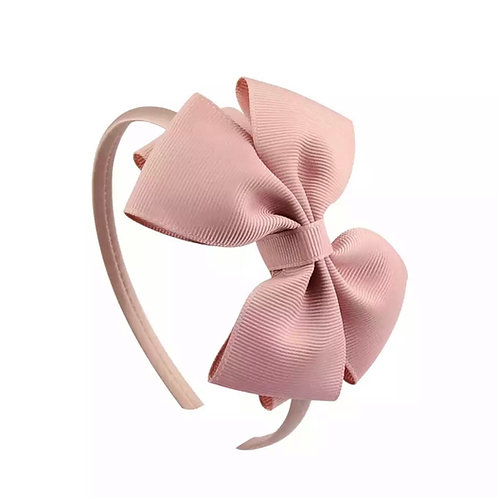 La petite surprise Couture Haarreifen Schleife Nude