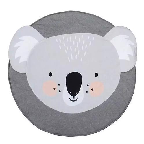 La petite surprise Couture Baby Krabbeldecke / Spieldecke Koalabär Grau