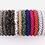 Thumbnail: La petite surprise Couture Crystal Haargummi / Armband Weiß-Silber-Mix