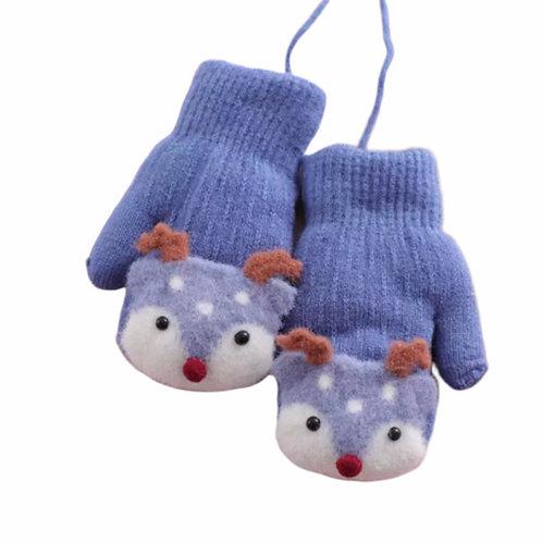 La petite surprise Baby Couture Handschuhe Fäustlinge Hellblau