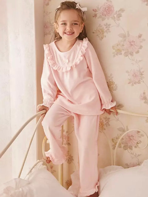 La petite surprise Couture Schlafanzug Florence Rosa