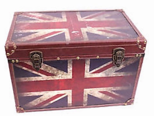 La petite surprise Couture - Truhe Union Jack Flagge Vintage