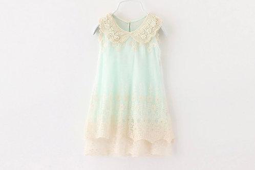 La petite surprise Couture Dress Vintage Mint