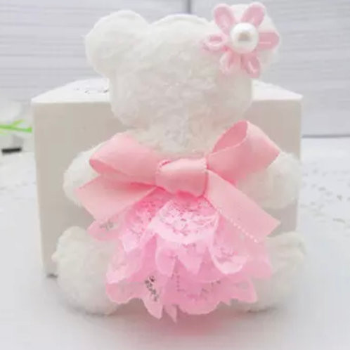 La petite surprise Couture Haarspange Teddy Rosa