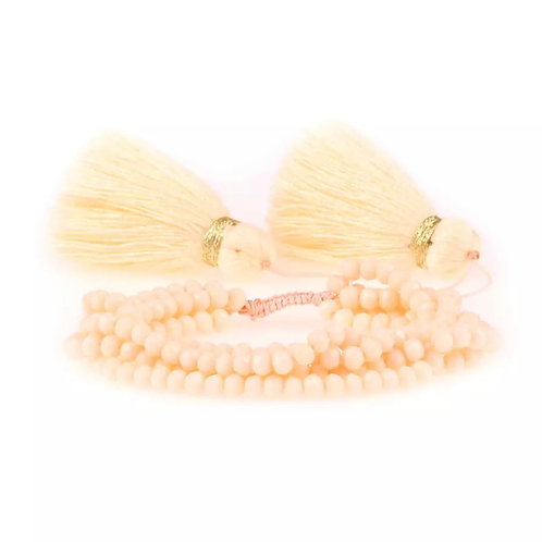 La petite surprise Couture Boho Armband Vanille