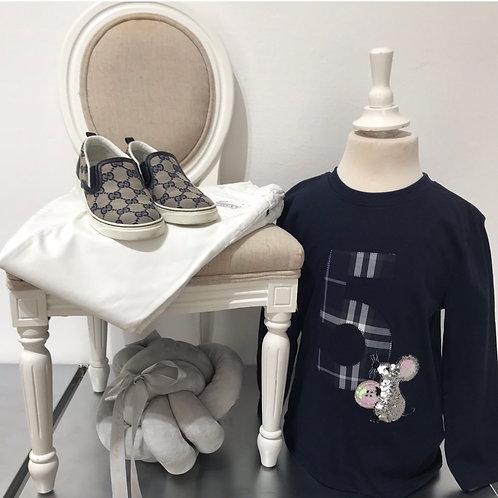 La petite surprise Couture Birthday Shirt Gr.5 Jahre / 110 cm