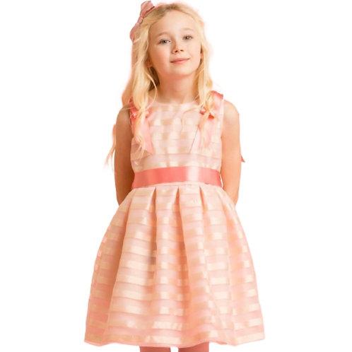 Holly Hastie - Kleid mit Organza Blassrosa