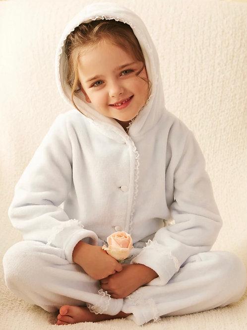 La petite surprise Couture Schlafanzug Chantal Himmelblau