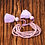 Thumbnail: La petite surprise Couture Boho Armband Mauve