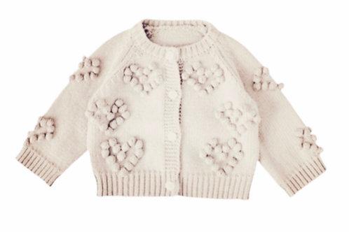 La petite surprise Couture Strickjacke Creme