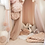 Thumbnail: La petite surprise Couture Tüll Pompom Apricotrose