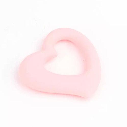 La petite surprise Baby Couture Beißring Herz Rosa
