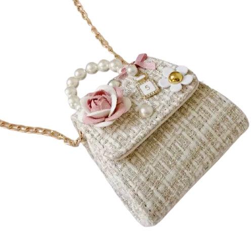 La petite surprise Couture Boucle Täschchen Beige