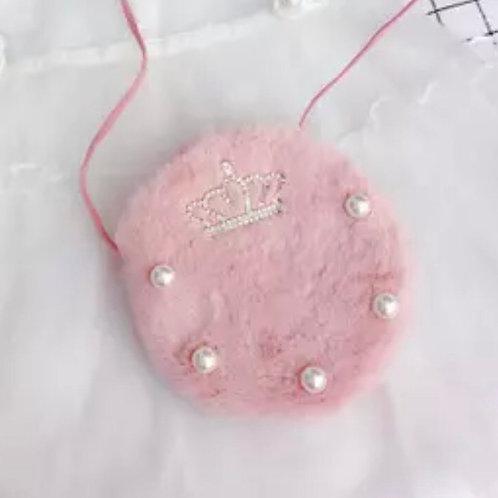La petite surprise Couture Plüschtäschchen Rosa