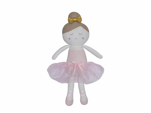 Living Textiles Knitted Toy Emma Ballerina 47 cm