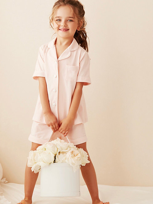 La petite surprise Couture Schlafanzug Caroline Rosa
