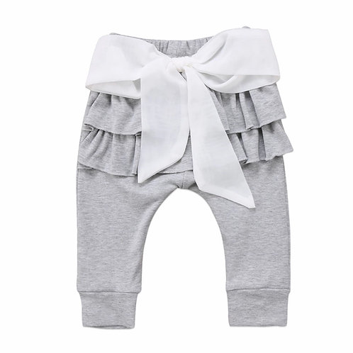 La petite surprise Baby Couture Leggings Grau