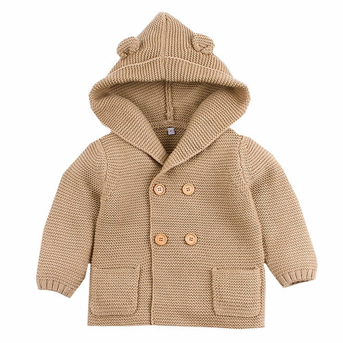 La petite surprise Baby Couture Strickjacke Caramel
