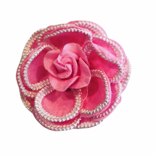 La petite surprise Couture Brosche Camelia Candypink