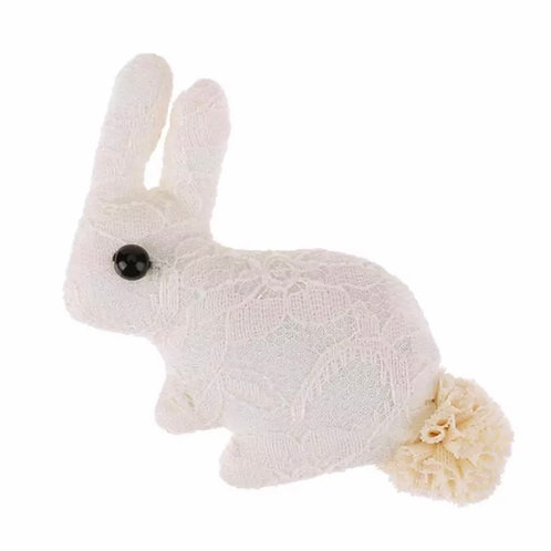 La petite surprise Couture Haarspange Bunny Creme