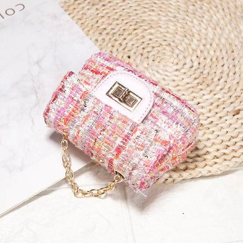 La petite surprise Couture Boucle Täschchen Rosa