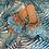 Thumbnail: Primadonna - Celeste Schlappen mit Muscheln Aqua