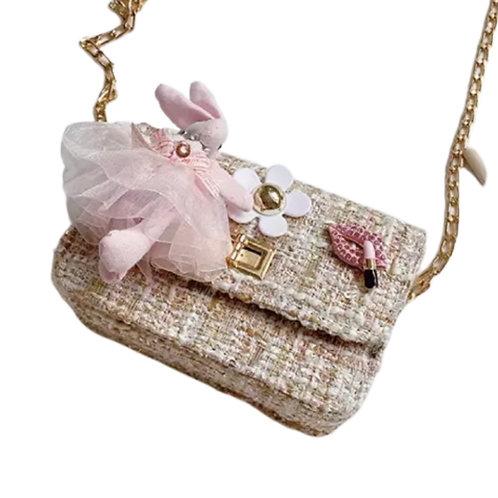 La petite surprise Couture Boucle Täschchen Bunny Beige
