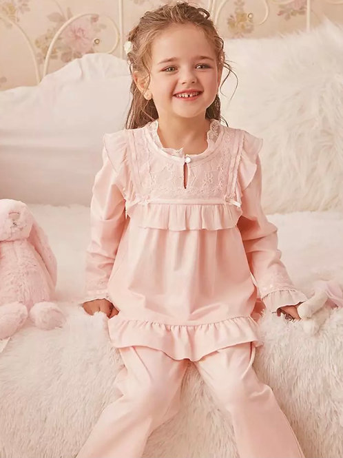 La petite surprise Couture Schlafanzug Chloe Rosa