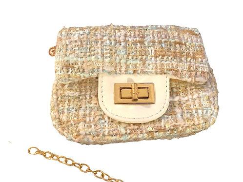 La petite surprise Couture Boucle Tasche Beige-Mint