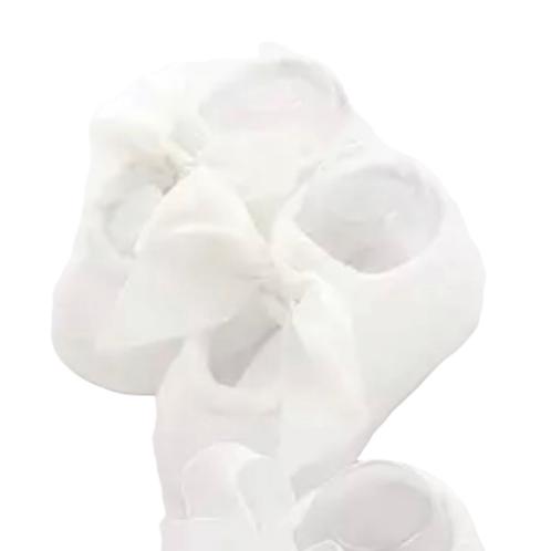 La petite surprise Couture - 1 Paar Babysocken weiß 0-12 Monate