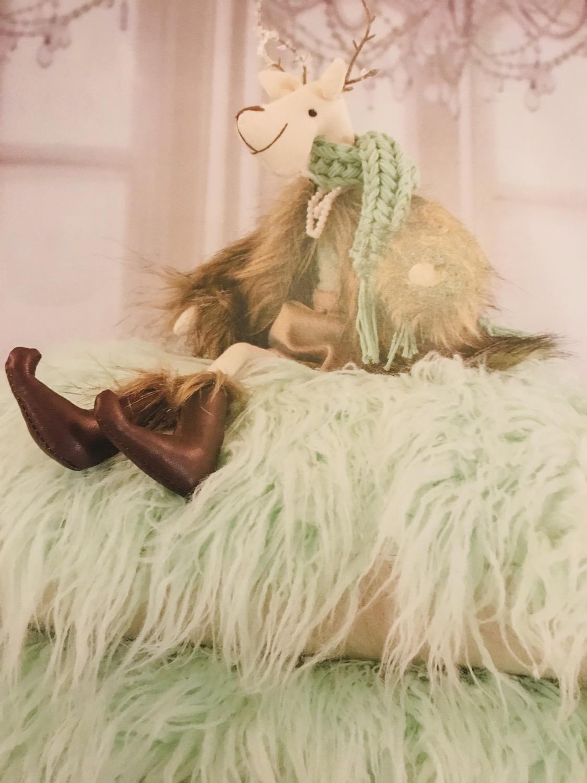 Thumbnail: La petite surprise Couture - Fellkissen Mint 40x40 cm