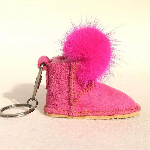 La petite surprise Couture Anhänger Boots Pink