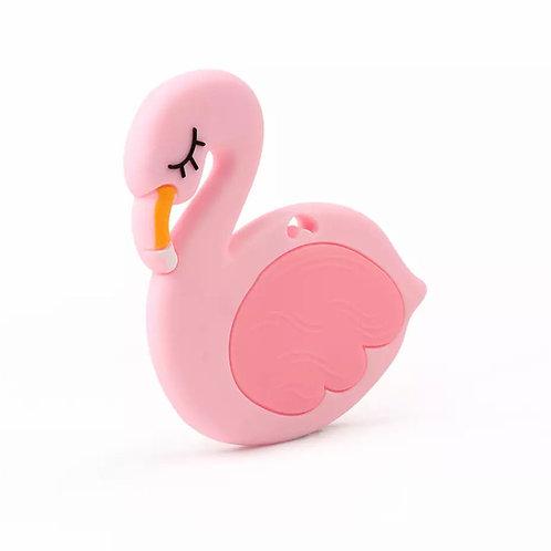 La petite surprise Baby Couture Beißring Flamingo Rosa