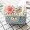 Thumbnail: La petite surprise Couture Boucle Täschchen Hellblau