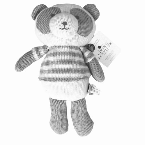 Living Textiles Knitted Toy Patty Panda 38 cm