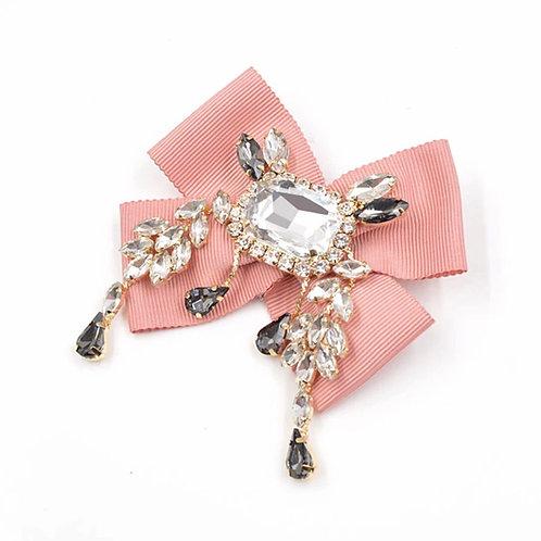 La petite surprise Couture Brosche Rosa