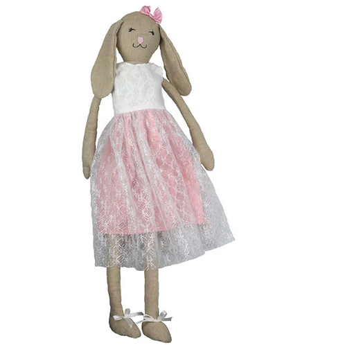 La petite surprise Couture Stoffpuppe Bunny Rosa 70 cm