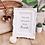 Thumbnail: La petite surprise Couture Bilderrahmen Weiß 20x25 cm