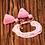 Thumbnail: La petite surprise Couture Boho Armband Rosa