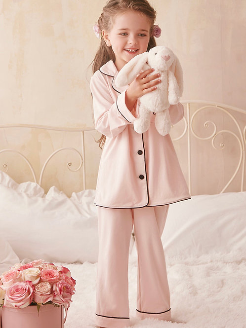 La petite surprise Couture Schlafanzug Maelys Rosa