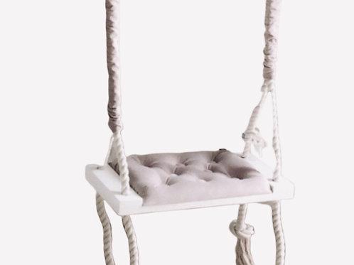 La petite surprise Couture Kinderschaukel Beige 70x25 cm