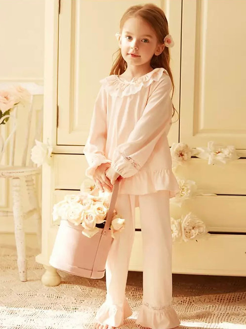 La petite surprise Couture Schlafanzug Elodie Rosa