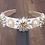 Thumbnail: La petite surprise Couture Haarreifen Weiß