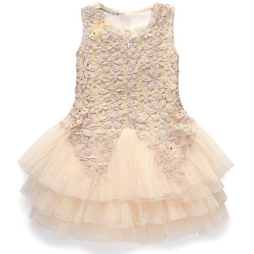 La petite surprise Couture Dress Princess Beige