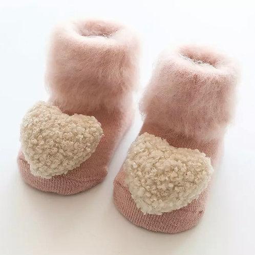 La petite surprise Couture Baby Socken Rosa