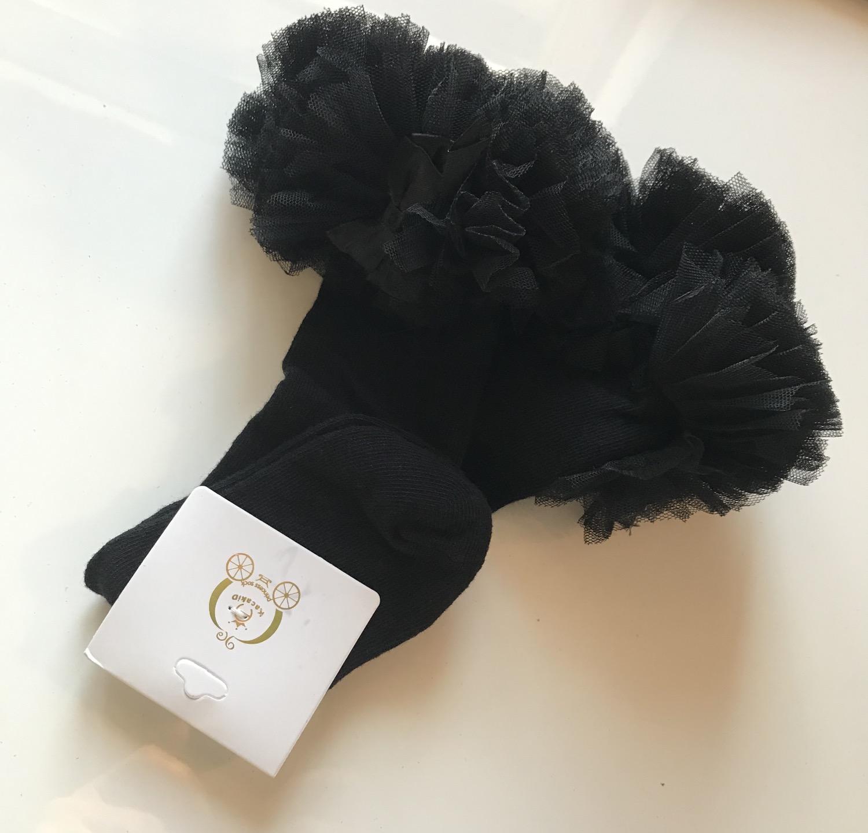 Thumbnail: La petite surprise Couture Strümpfe Schwarz Gr. 2-4 Jahre