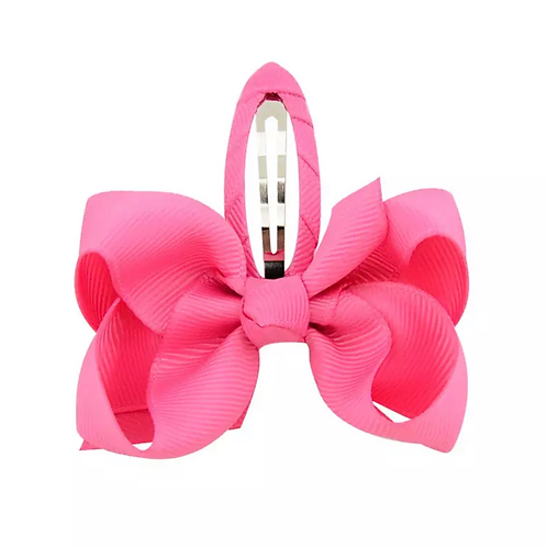 La petite surprise Couture Haarspange Schleife Pink