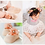 Thumbnail: La petite surprise Couture - 1 Paar Baby Socken Pastellaprikot Gr.0-12 Monate