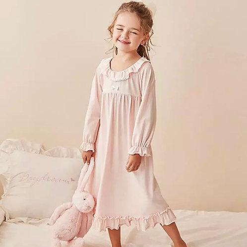 La petite surprise Couture Nachthemd Clara Rosa